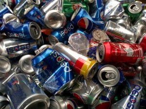 used drinks cans