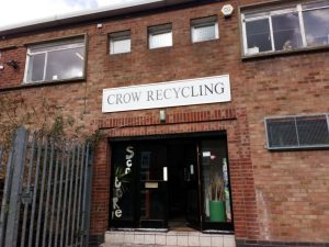 Crow Recycling warehouse